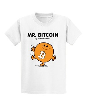 mr bitcoin shirt