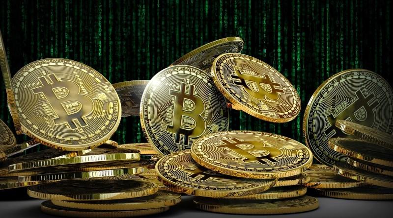 stacking satoshis of bitcoin